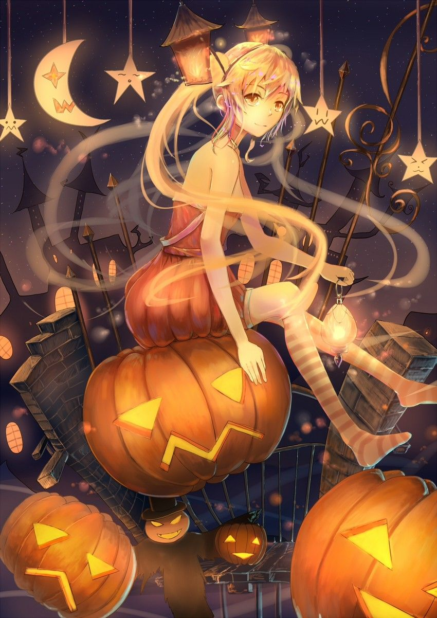 Pixiv Halloween Highlights With Images Anime Halloween Anime