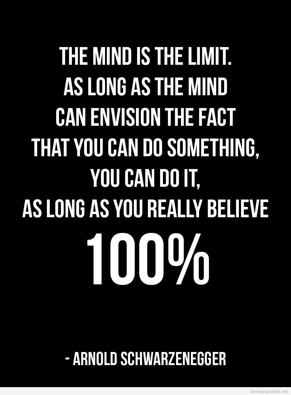 Arnold Schwarzenegger Bodybuilding Motivation Quote