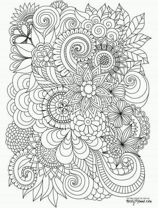 Pin de Lucretia Long en Color Pages   Pinterest   Mandalas, Colorear ...