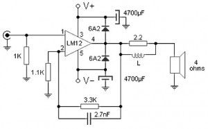 100W Audio Amplifier with Integrated Circuit (With images