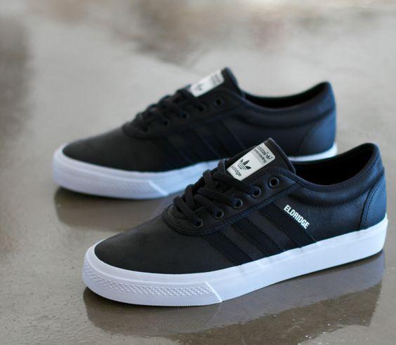 adidas Skateboarding Adi Ease Eldridge Black Running White