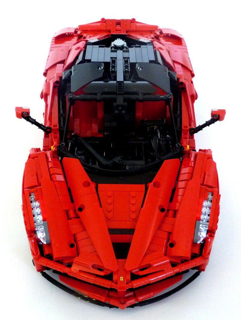 lego technic ferrari laferrari lego pinterest lego voiture et jeu jouet. Black Bedroom Furniture Sets. Home Design Ideas