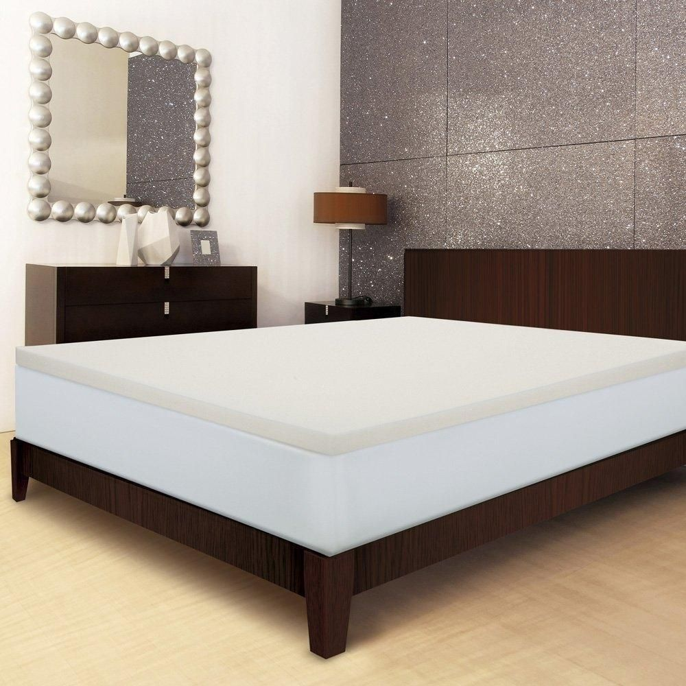Twin size 2inch Thick Memory Foam Mattress Topper Made
