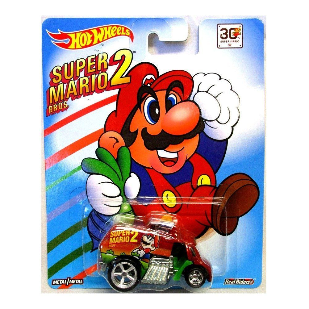 Super Mario Bros 2 Hot Wheels Car Hot Wheels Toys Hot Wheels Mattel Hot Wheels