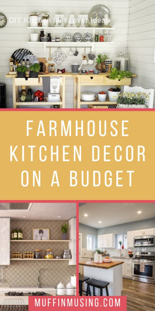 Diy Ideas To Remodel And Makeover Your Kitchen Kitchenideas Decor Farmhouse