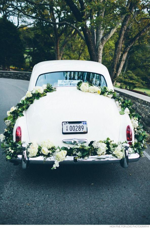 Vintage Black-Tie Wedding at Cheekwood Gardens | Wedding cars ...