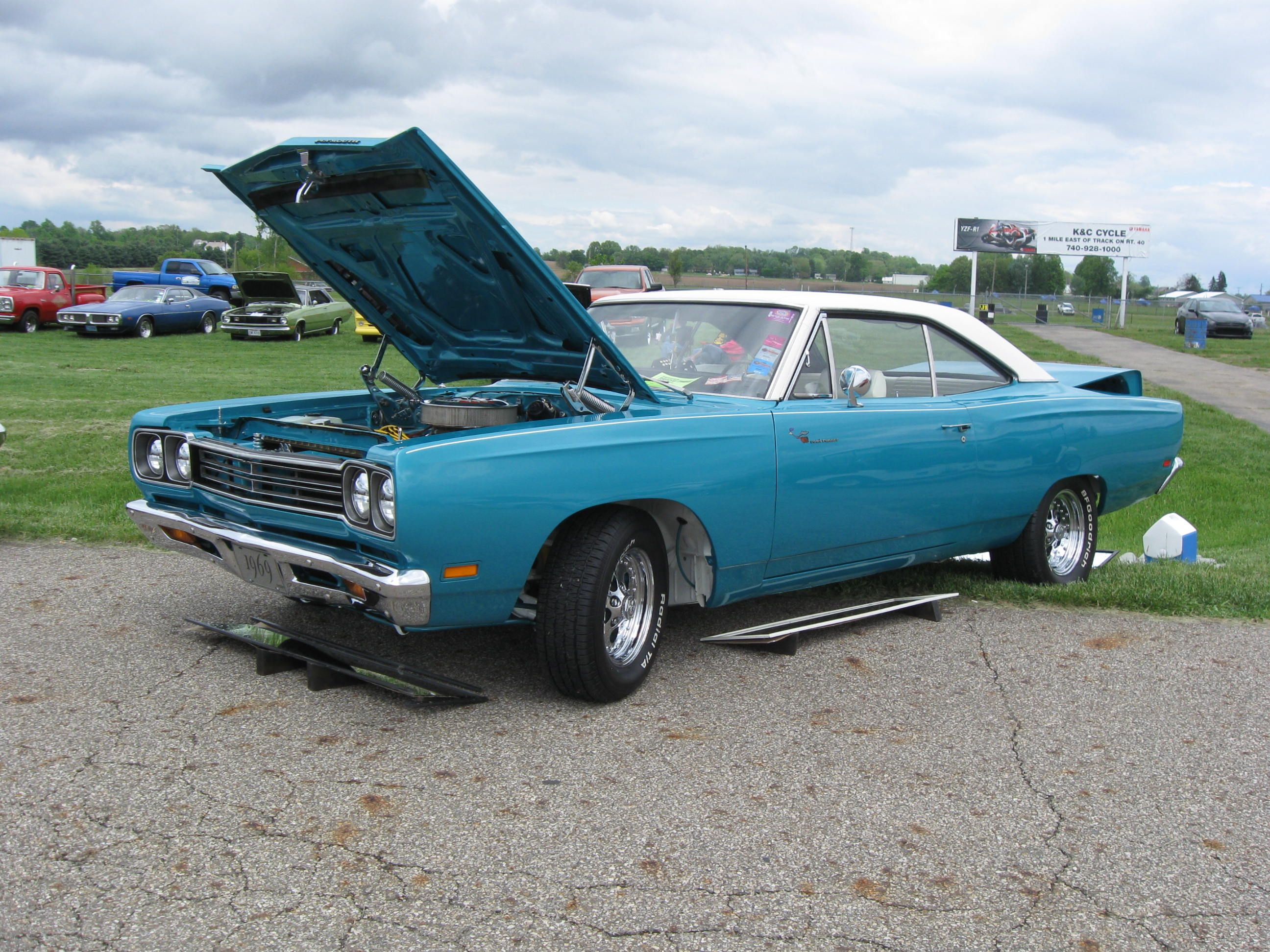 1969 Plymouth Road Runner Photo By Mopar Belle Chrysler Power