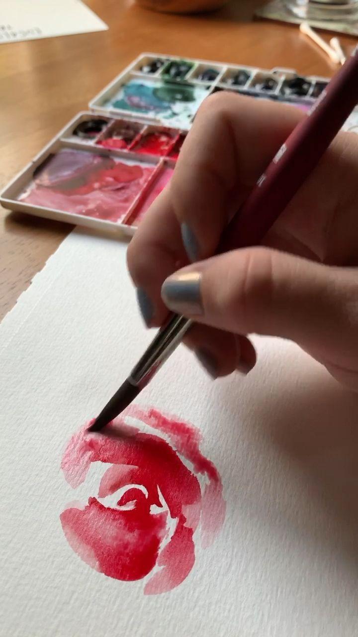 Pin De Nadine Laidet Em Dessin Pinturas Simples De Aquarela