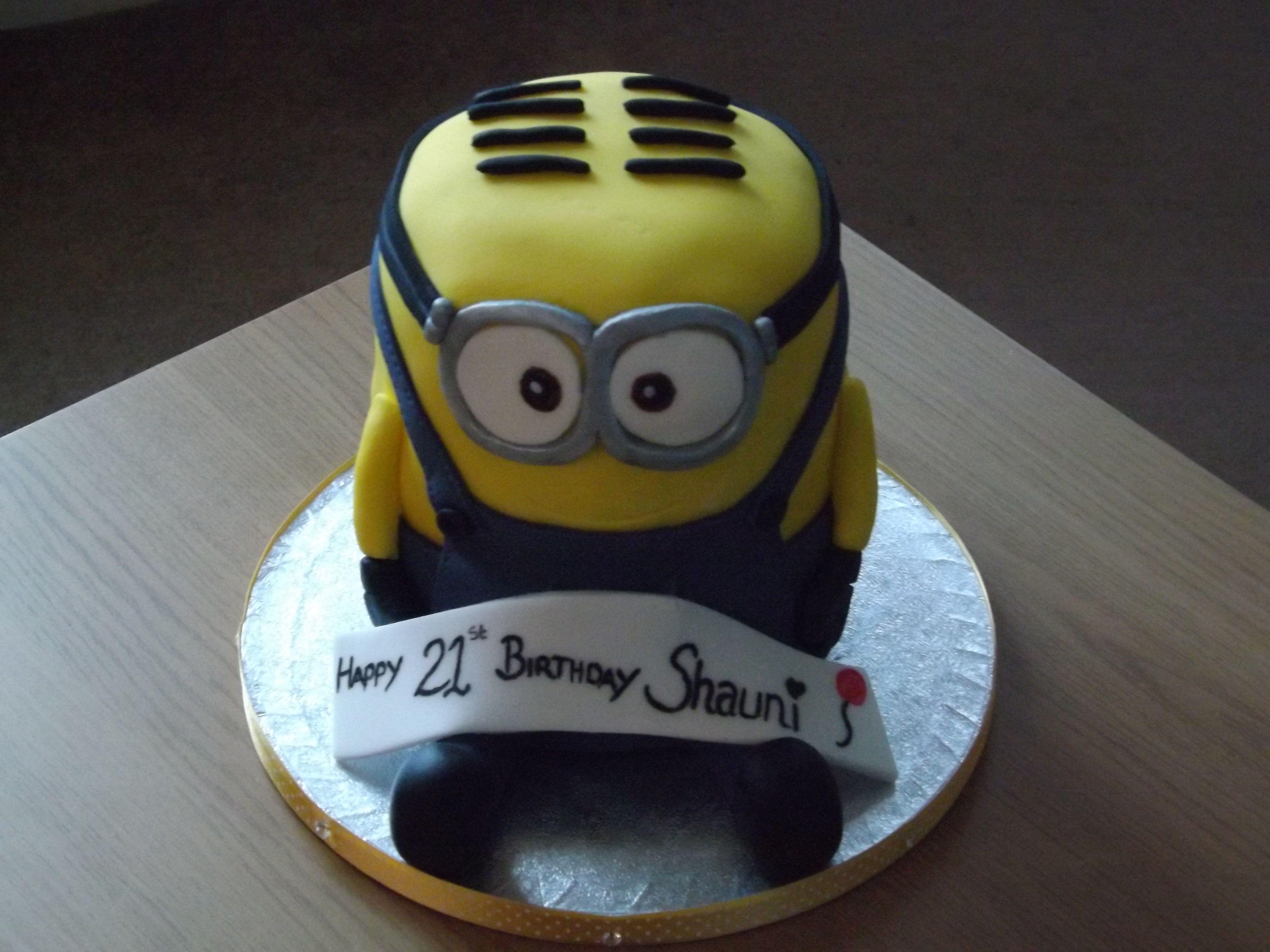 Minion Cake!!