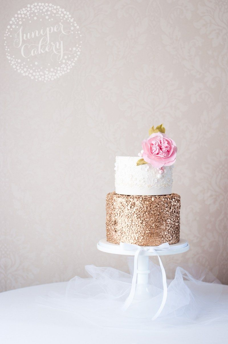 Marchesa lace inspired wedding cake by Juniper Cakery | Wedding Cake ...
