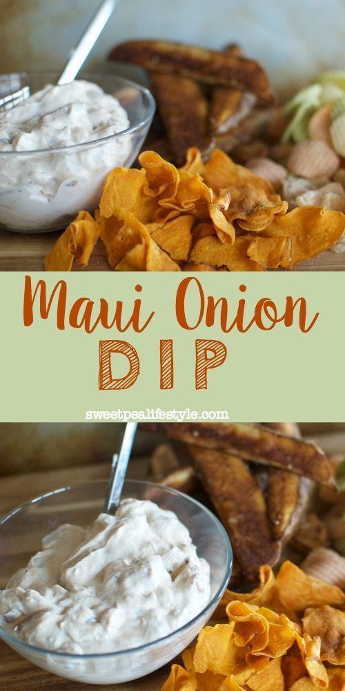 Maui Onion Dip Recipe Blogger Best Recipes Pinterest Recipes