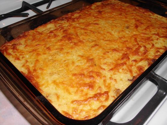 Mexican Cornbread Casserole #mexicancornbreadcasserole I cant remember where I got this recipe but have had it for years. I always make this when I have cooked a big pot of pinto beans and ham. Its a nice change from your standard cornbread. My husband does not like cornbread or anything with cornmeal but always looks forward to me making this when we have beans. I have made it often and always get lots of compliments. #mexicancornbreadcasserole