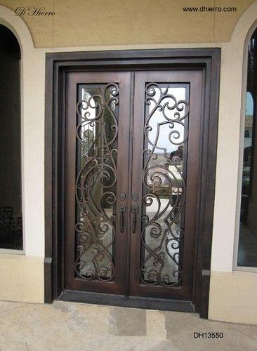 Iron Doors Exterior Eclectic Front Doors Dallas By D