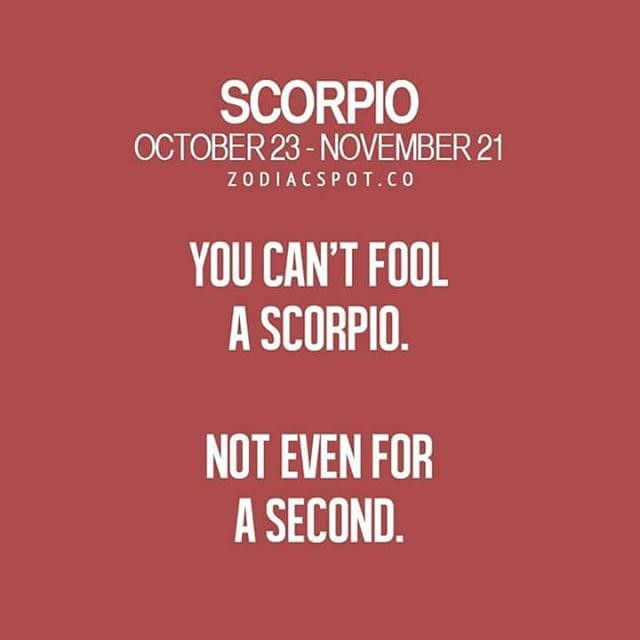 scorpio love horoscope quotes
