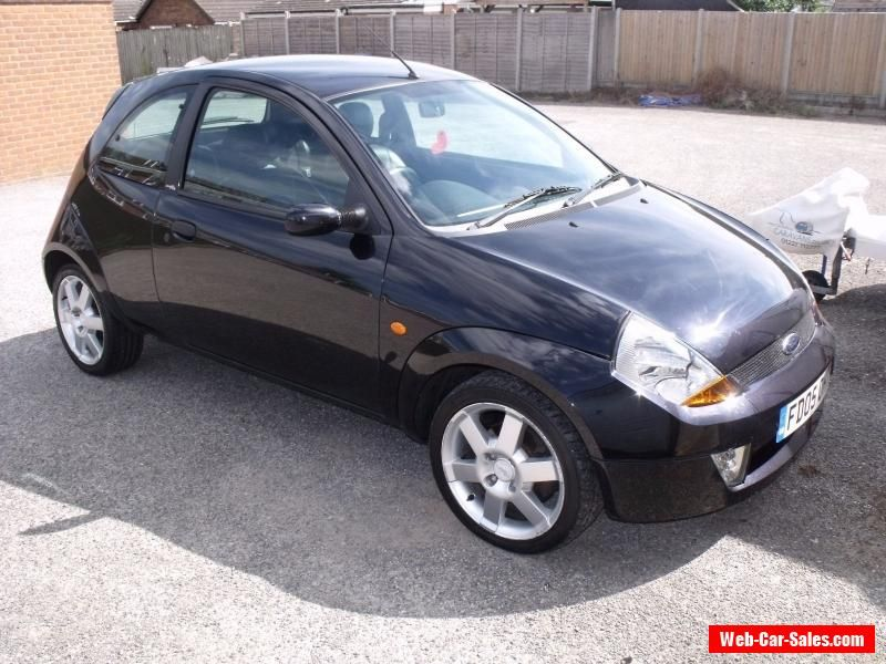 Black Ford Ka Sport 2005 1600 Cc Ford Cars For Sale
