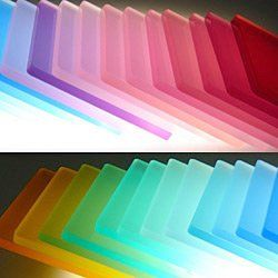 Colored sand-blasted acrylic | Products I Love | Pinterest ...