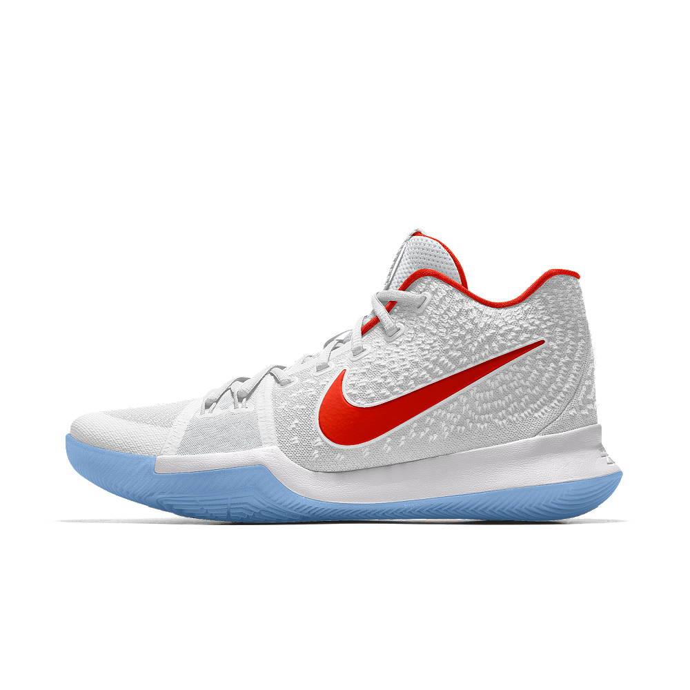 Intensivo nada arbusto  Nike Kyrie 3 iD Men's Basketball Shoe Size 12 (White) | Basketball shoes  kyrie, Nike kyrie 3, Basketball shoes