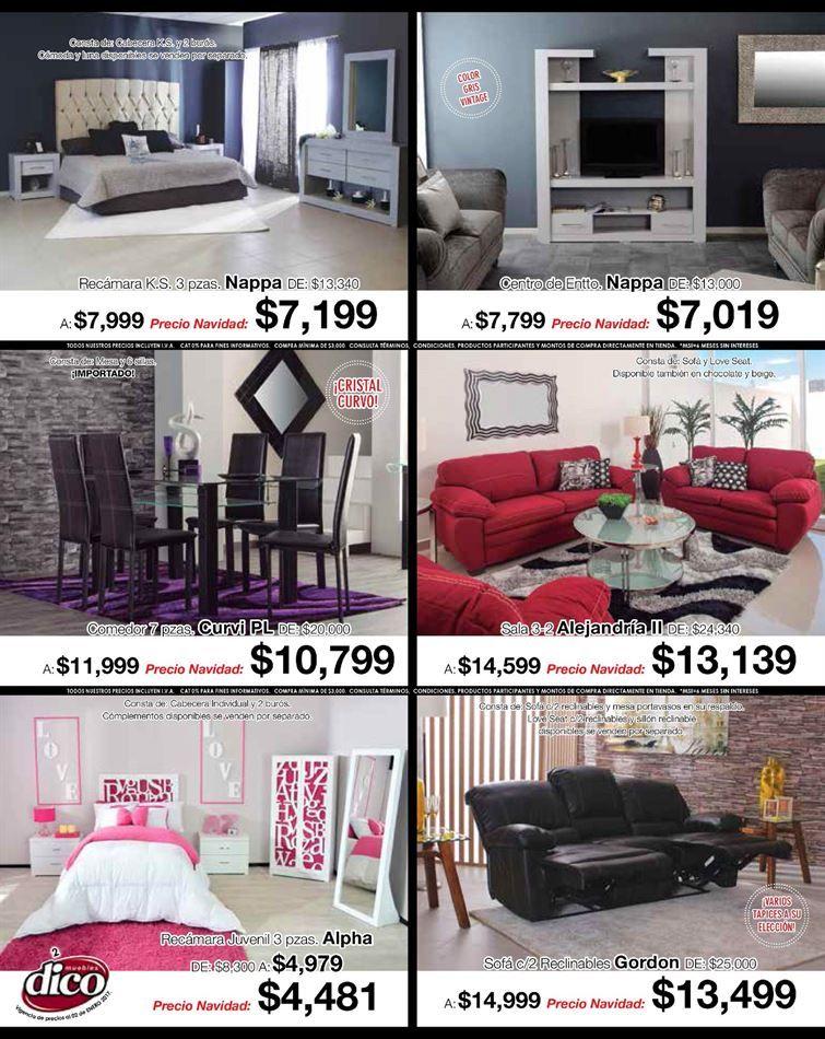 Cat logo de ofertas de muebles dico proyectos que for Catalogo de muebles