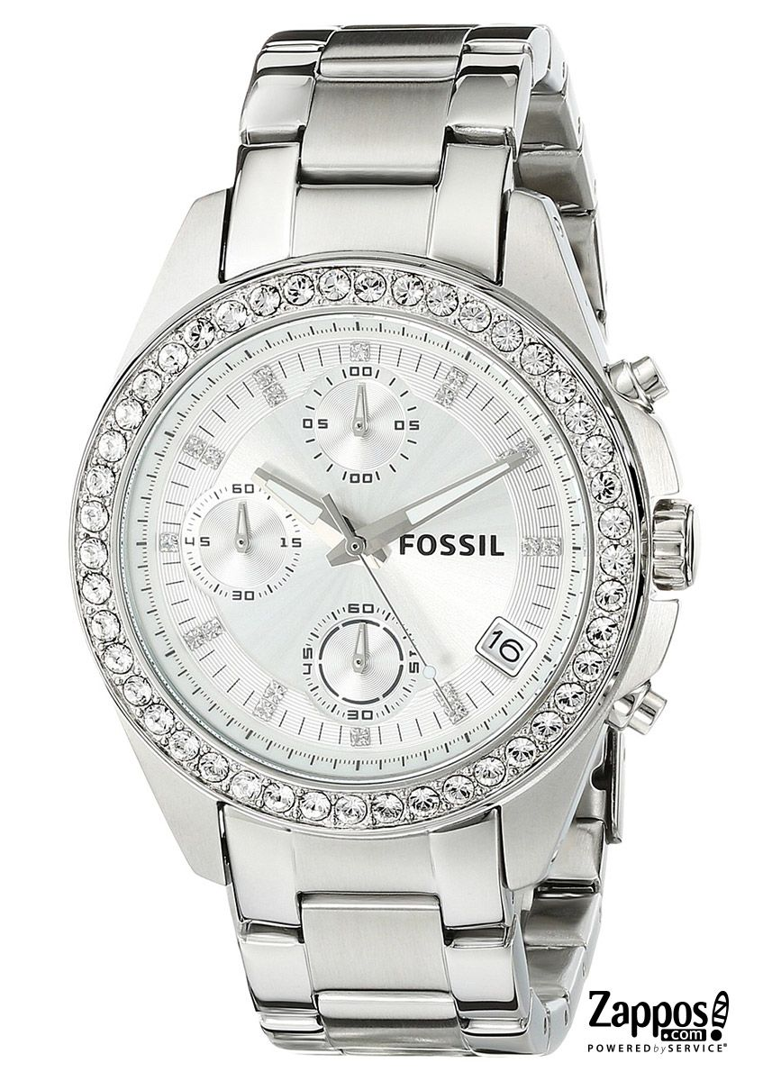 Shine day and night with this stunning Fossil timepiece! It