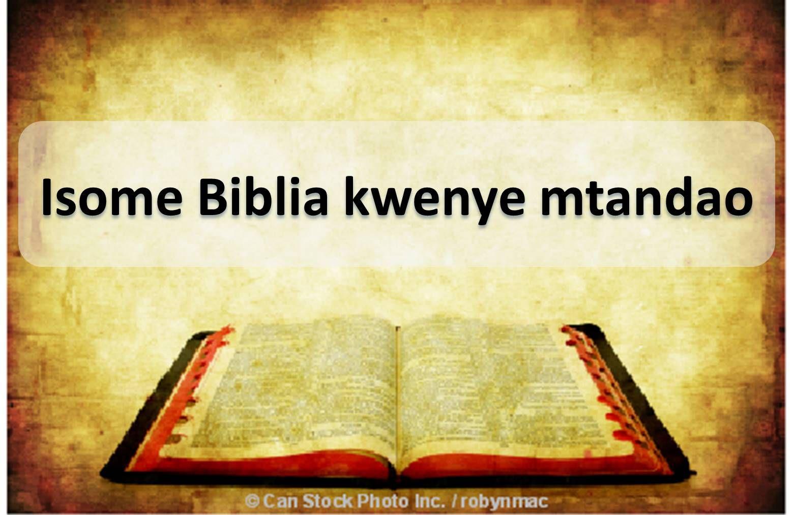 Isome Biblia Kwenye Mtandao Pakua Bila Malipo Mp3 Audio Pdf Biblia Internet Bible
