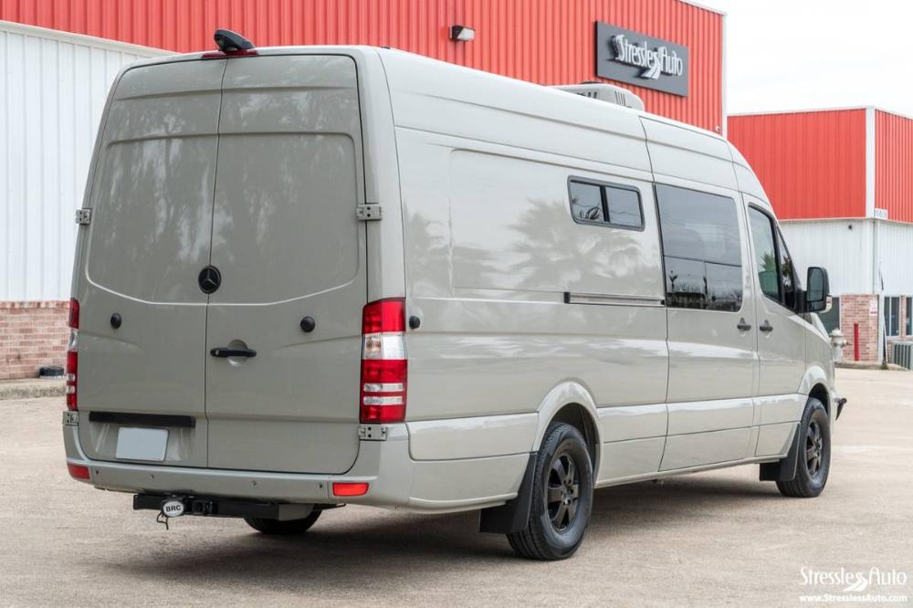 2014 Outside Vans Mercedes Sprinter Camper For Sale In Austin Tx Mercedes Sprinter Camper Sprinter Camper Campers For Sale