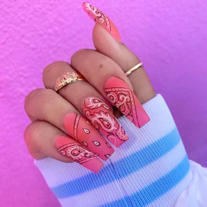 35 Fantastic Designs For Coffin Nails You Must Try Fantastic Designs For Coffin Nails You Must Try