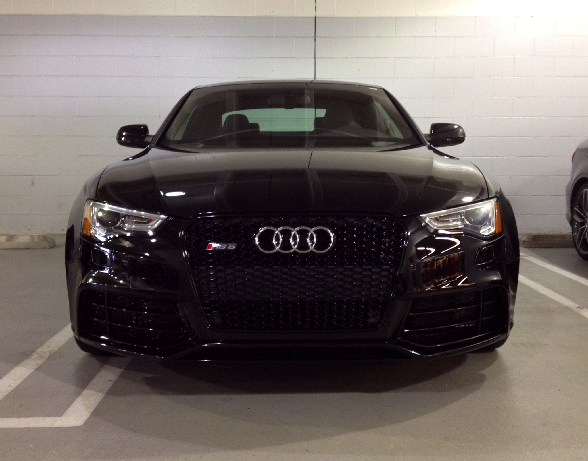 Come See This Menacing 2015 Audi RS5 In Mythos Black Metallic In Our  Showroom, It