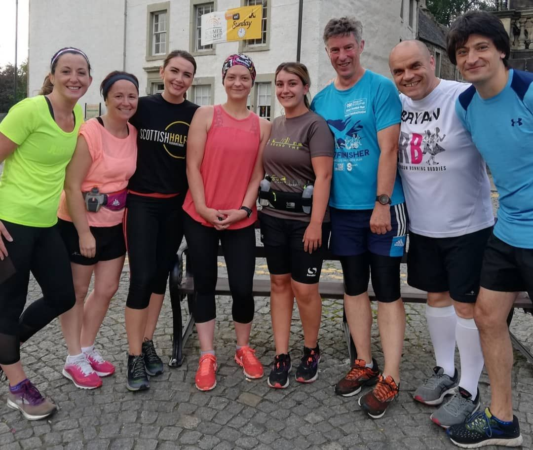 One year with my running Buddies!! Without getting too sentimental; I love them!!!🥰 #bestfriends...