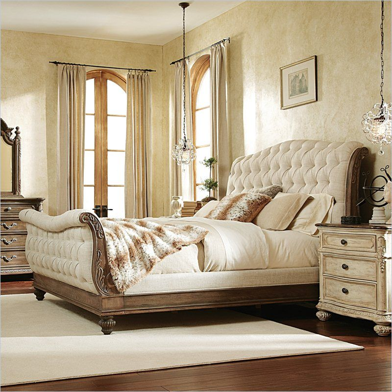 American Drew Jessica McClintock The Boutique Sleigh Bed