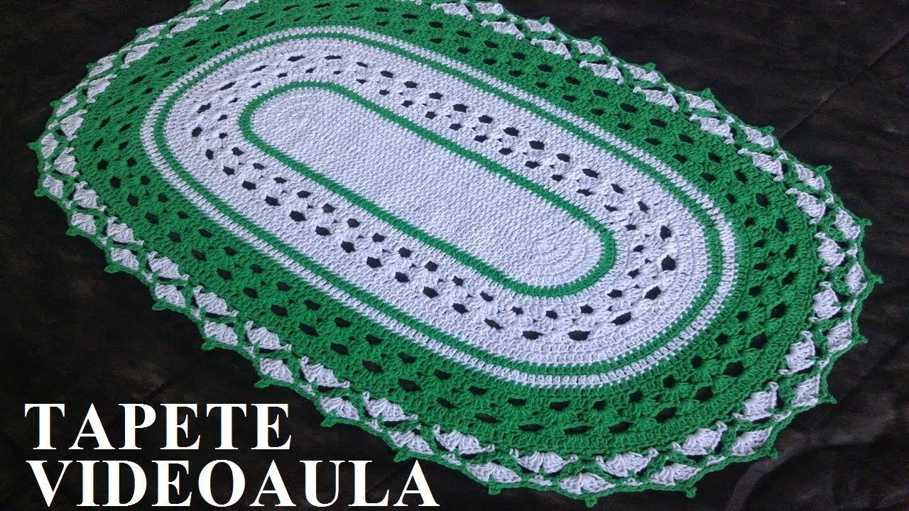 Tapete de barbante Maria   Crochê   Pinterest   Tapetes, Ganchillo y ...