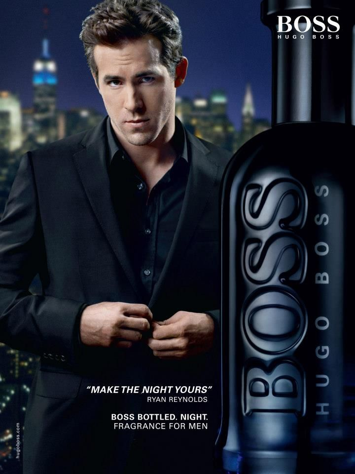 Ryan Reynolds Scores A Fragrance Campaign Trio For Hugo Boss Boss