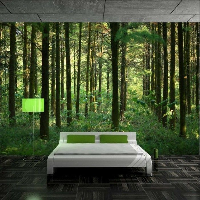 fototapete wald wundersch nes design vom schlafzimmer. Black Bedroom Furniture Sets. Home Design Ideas