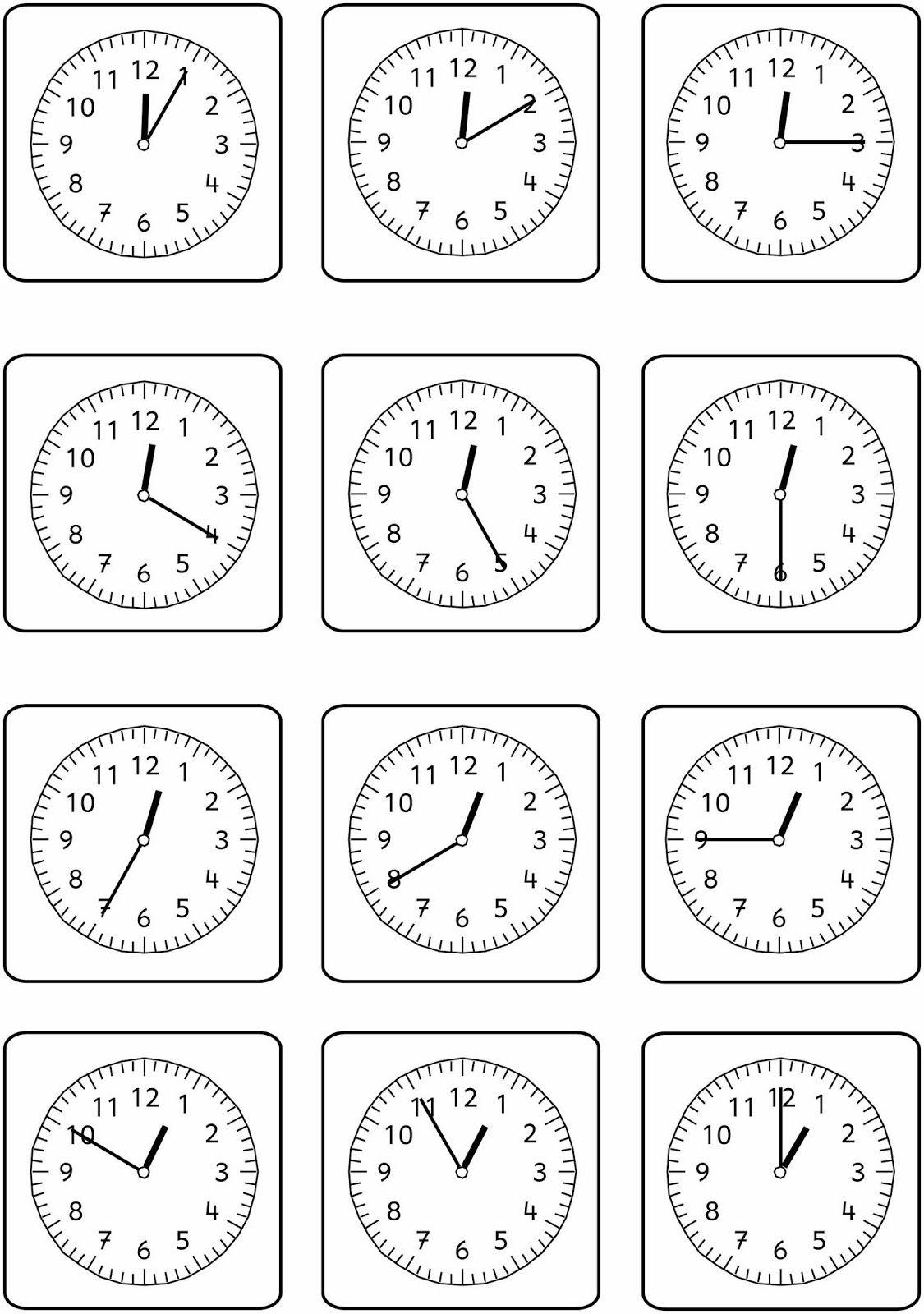 Uhrenblitzblick