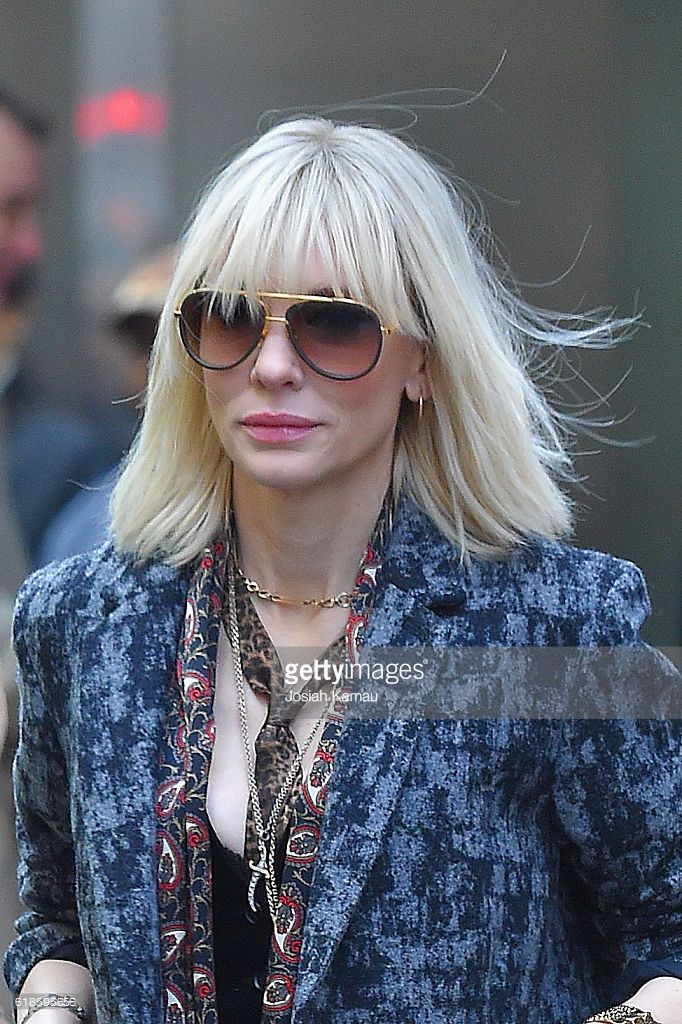 Image Result For Cate Blanchett Hair Ocean 8 Hair In 2019 Hair