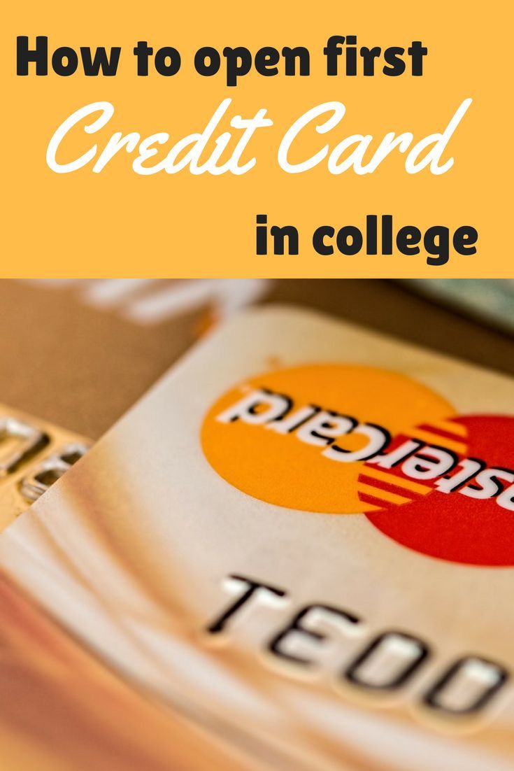 My First Credit Card And How I Paid For My College Expenses