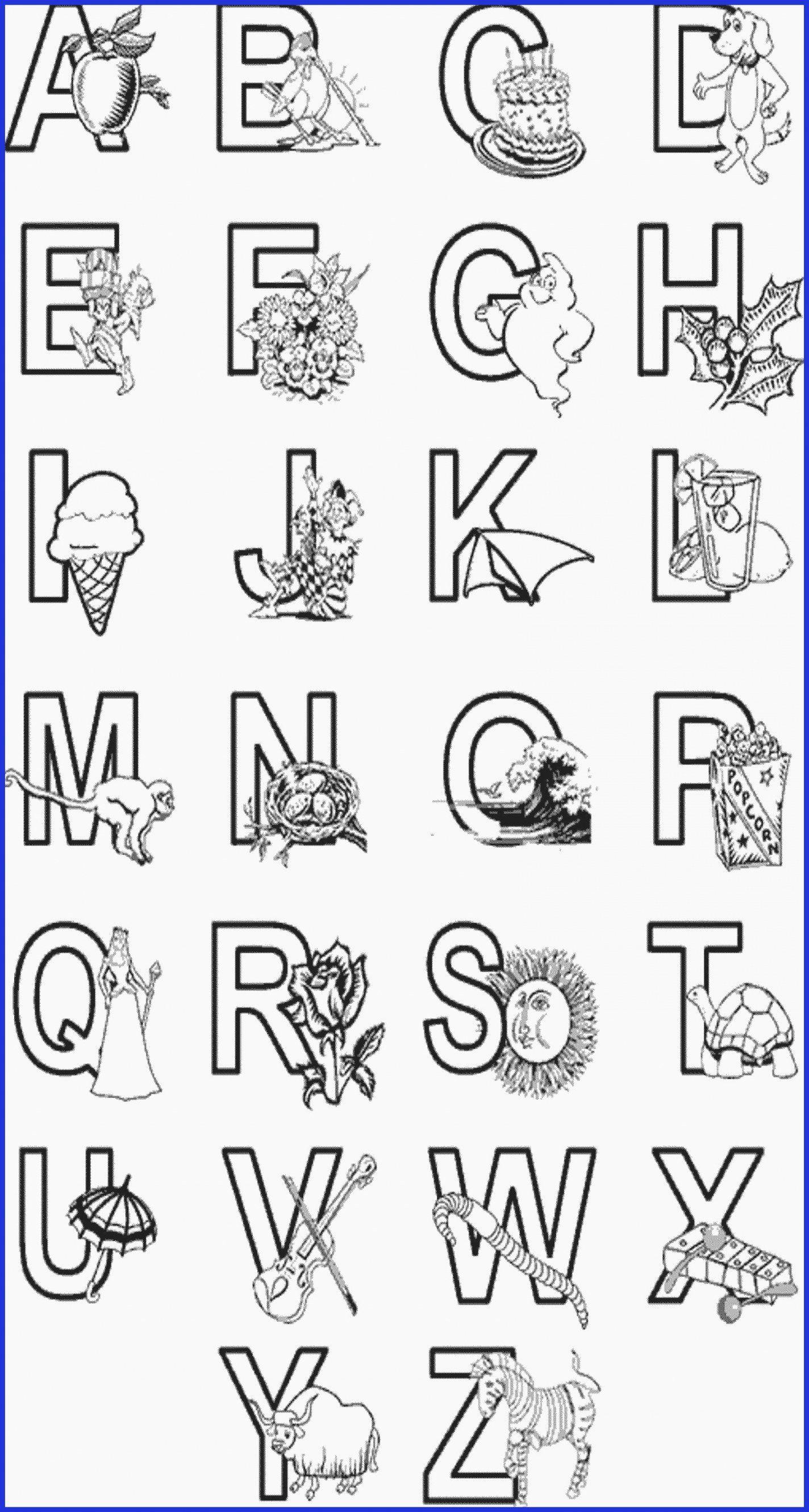 Coloring Alphabet Sheets Inspirational Bubble Letter B Color