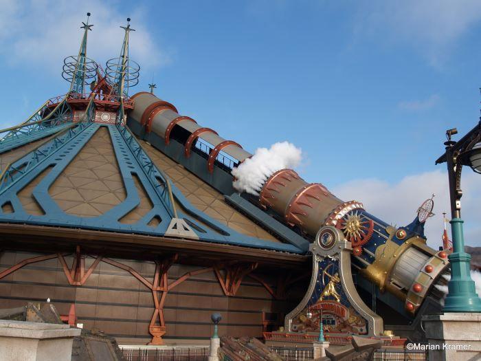 Een attractie in Disneyland Parijs