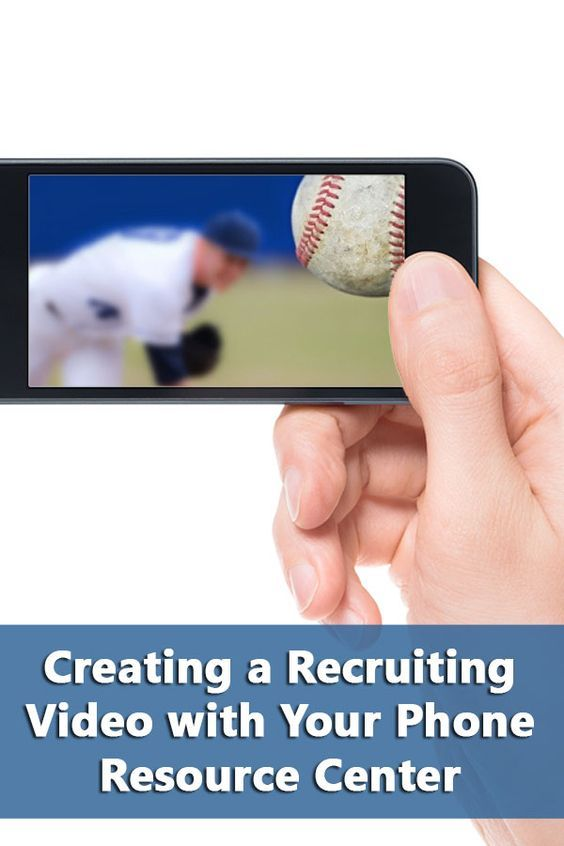 Creating A Recruiting Video With Your Phone Resource Center Recruitment Volleyball Senior Pictures List Of Skills