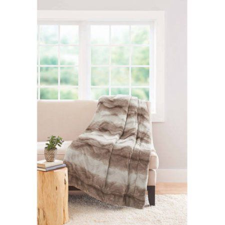 Better Homes And Gardens Faux Fur Throw Blanket Multicolor Faux Mesmerizing Better Homes And Gardens Throw Blanket