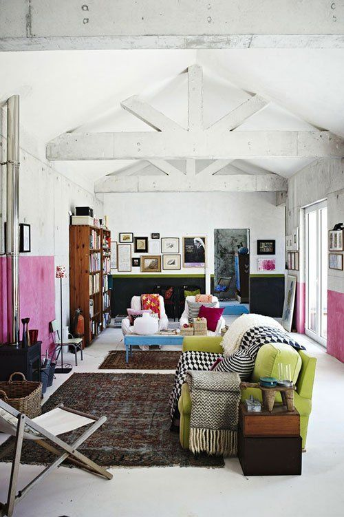 Mr Kate Decorating Large Spaces Home House Interior Home Living Room