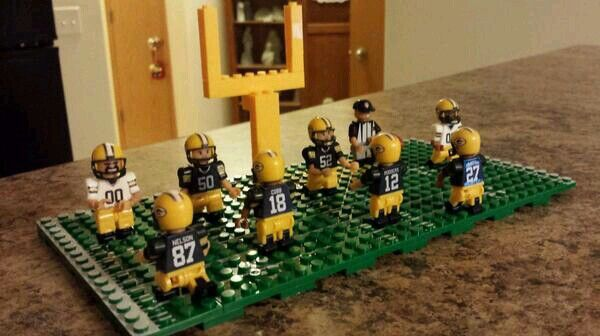 Packers Lego | Green Bay Packers | Pinterest | Packers and ...