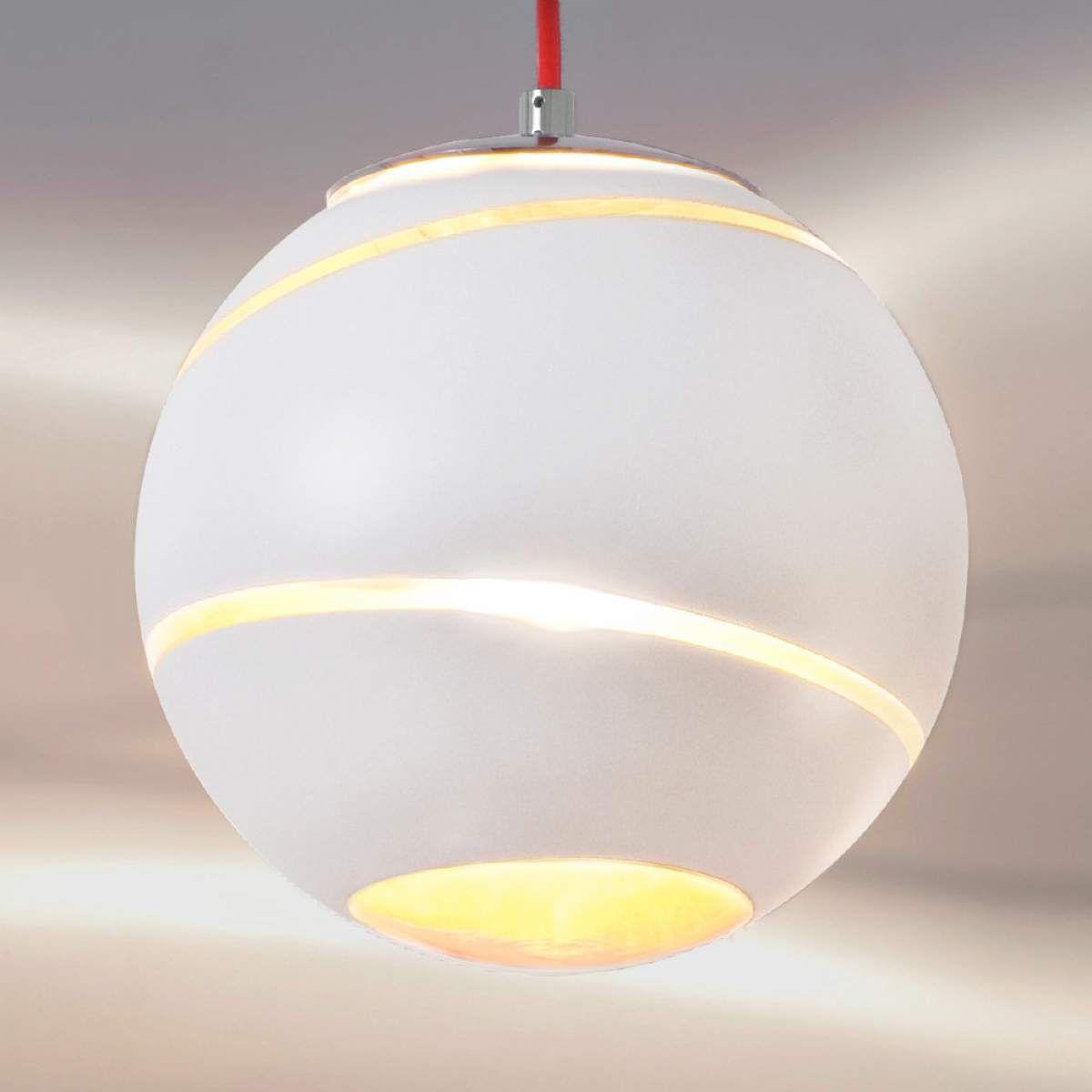 Petite Suspension Bond Blanche 12 Cm Avec Images Lampe Salon