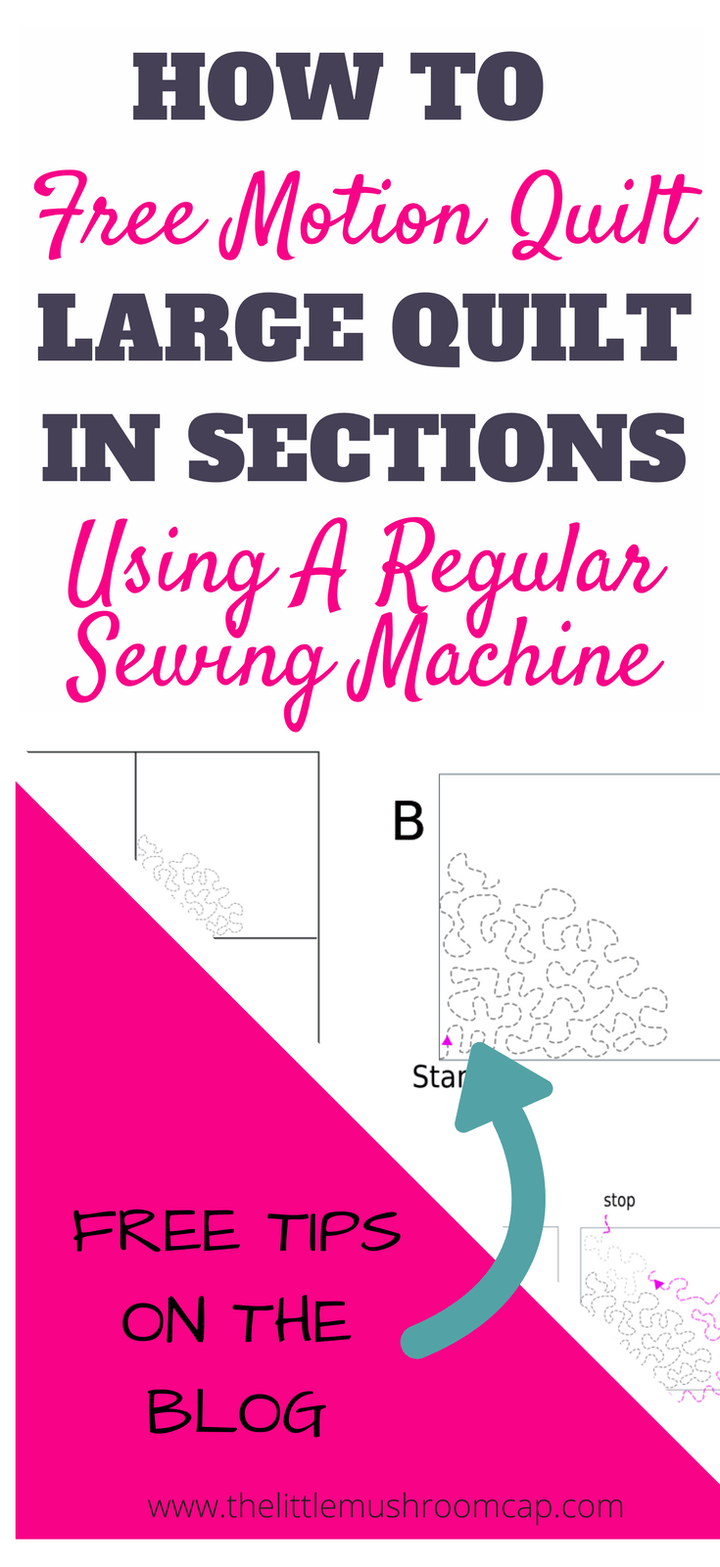 FMQ on a domestic machine: Avoiding Folds and Pleats | quilts ...