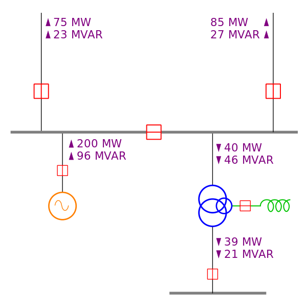 one-line diagram