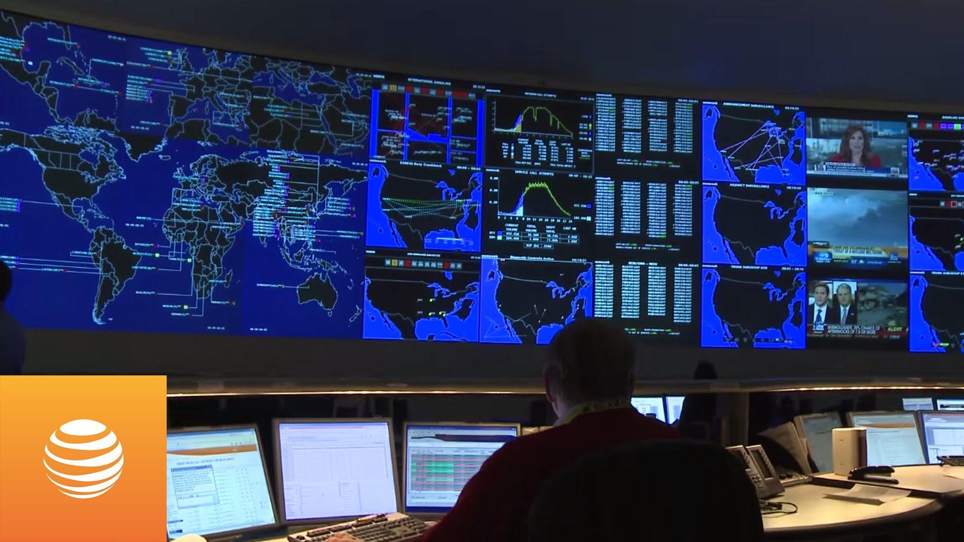 Att global network operations center