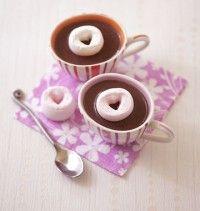 Chocolat chaud à l'espagnole et chamallow coeur – Saint-Valentin