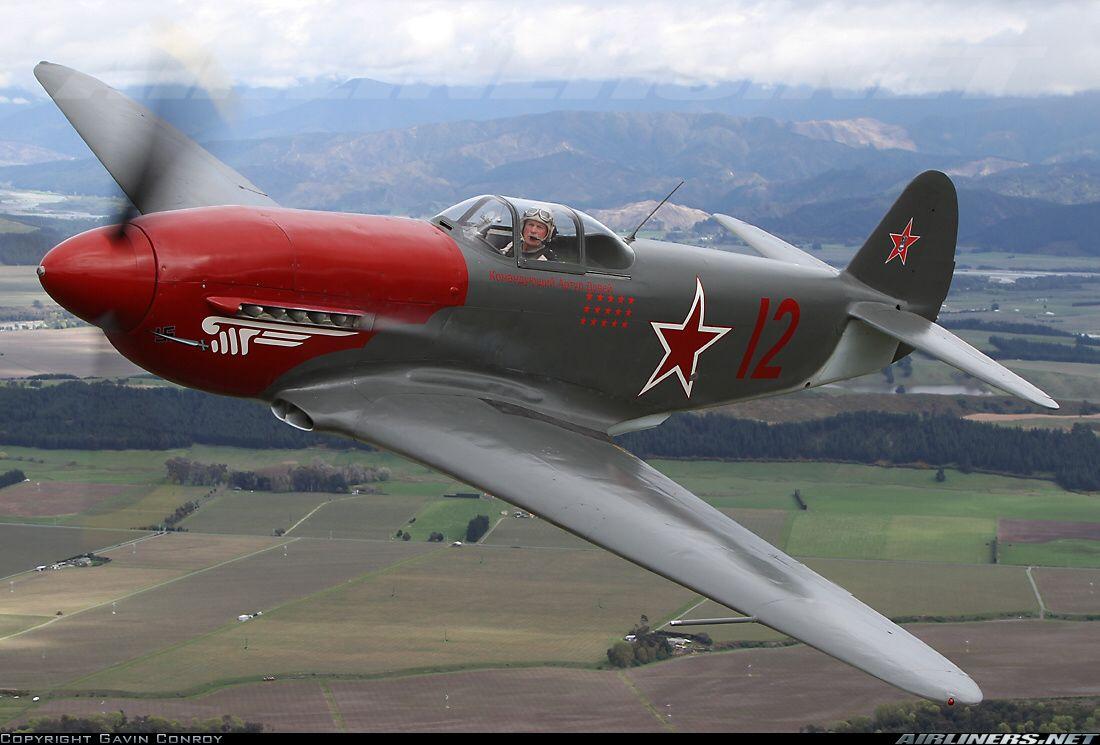 Обои historical, советский, military, club, як-9у, Самолёт. Авиация foto 14
