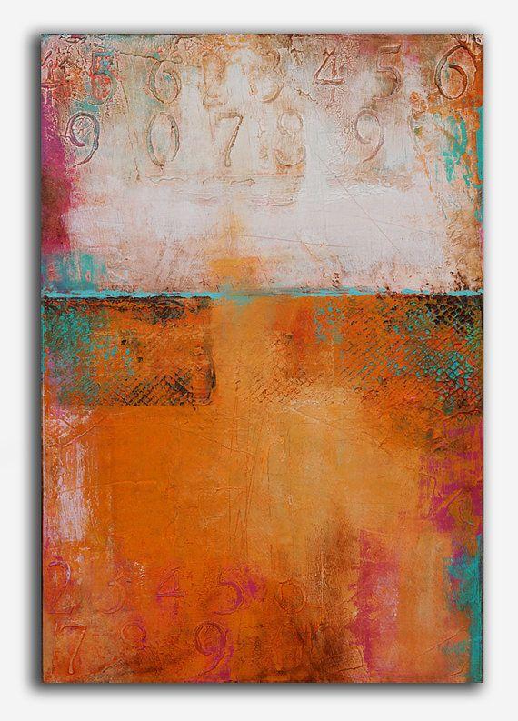 Acrylic+Painitng+abstract+Original+por+erinashleyart+en+Etsy,+$475.00