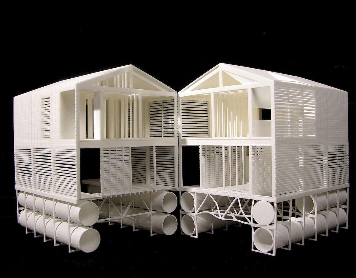 Floating House   Architectural models   Floating