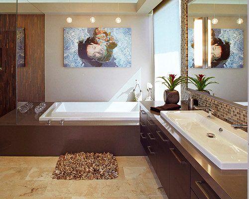 elegante, sobrio Baños Pinterest Imagenes de google - muebles para baos pequeos
